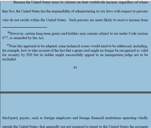 p 44 report on Citizens Residing Overseas