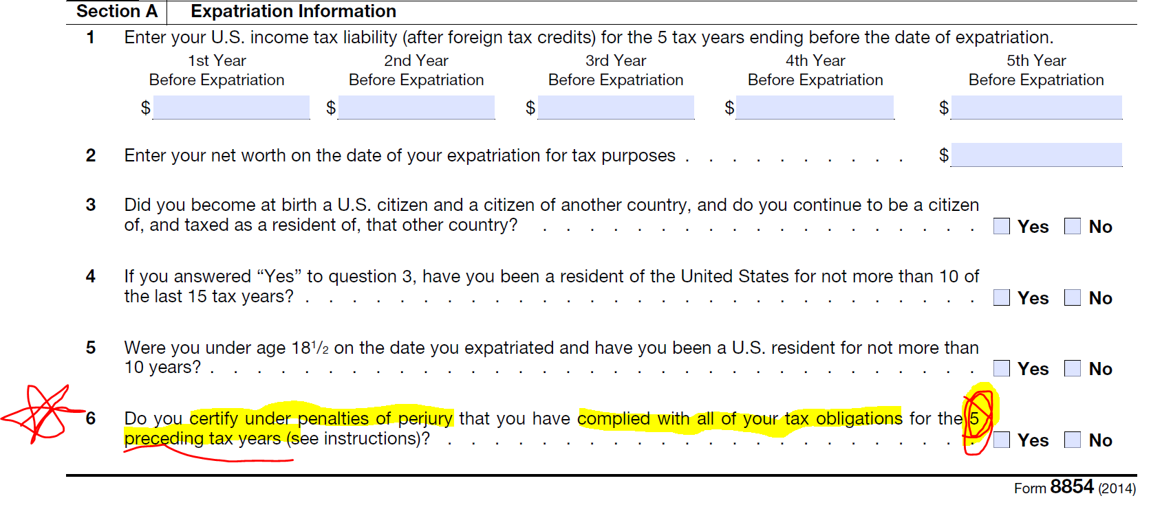 How Many of the 5,211 Former U.S. Citizens (who Renounced in 2014 ...