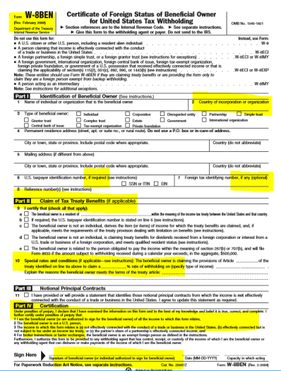 Irs Form W8 Tax Expatriation